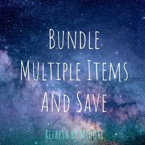 Make a bundle of multiple items and make an offer!